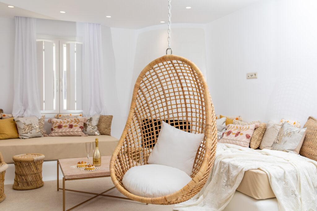 Gold & White Villa